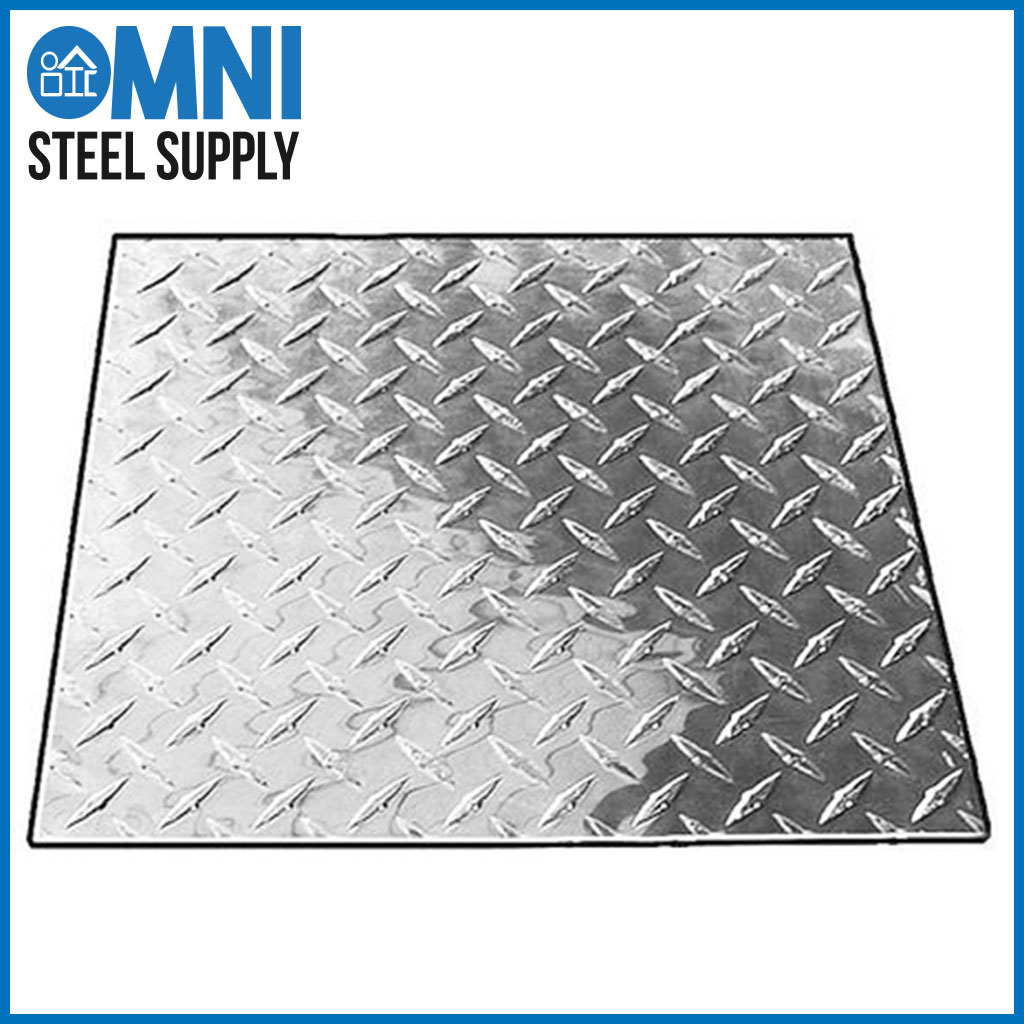 How Is Diamond Plate Made Omni Steel Supply