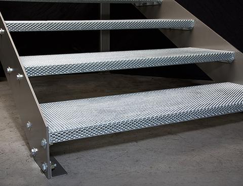 Steel Stair Pans And Steel Treads Ny Omni Steel Supply